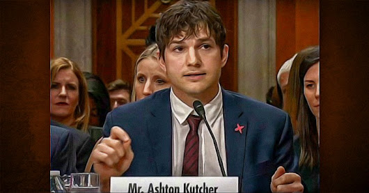 Ashton Kutcher in War Against Pedophiles and Sex-Trafficking
