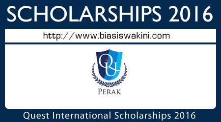Quest International University Perak Scholarships 2016