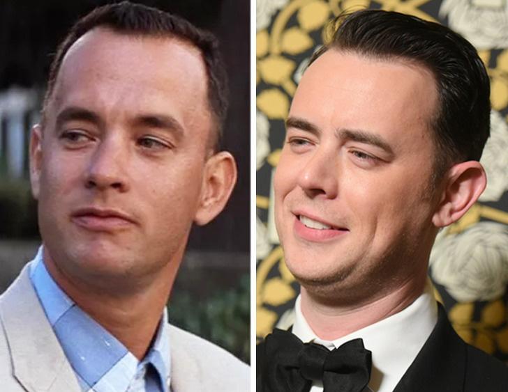 Tom Hanks e seu filho Colin Hanks