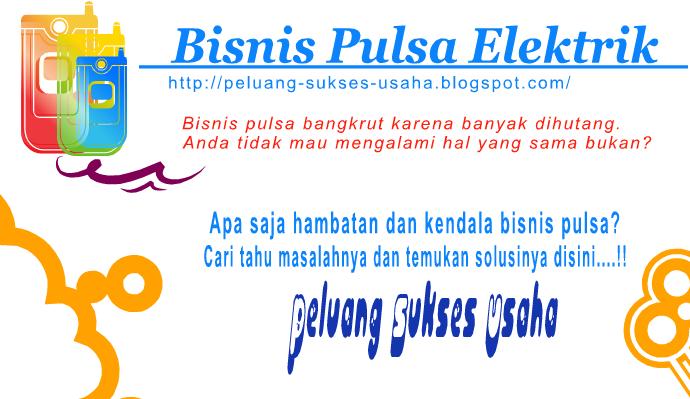 Hambatan Bisnis Pulsa Elektrik