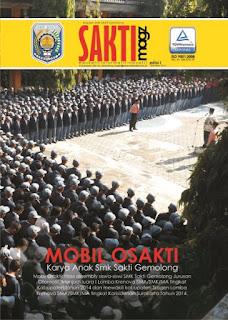 Edisi Perdana Majalah SMK Sakti