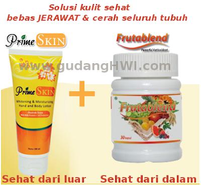 Paket Hemat Frutablend dan Prime Skin | Kulit Putih Mulus Sehat Merata