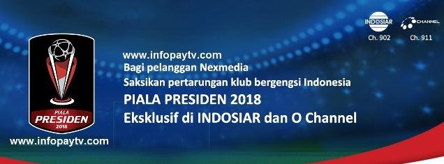 Nonton Piala Presiden 2018 di Nexmedia