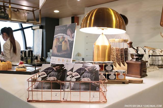 IMG 9849 - 台中南區│咖啡任務,全台最高樓層咖啡廳就在台中!隱身在商辦大樓裡的絕美夜景超療癒!