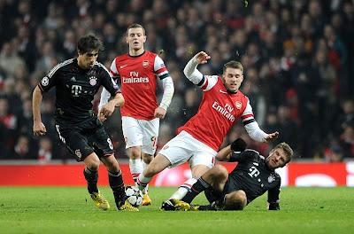 Bayern Munich ganó 5 a 1 al Arsenal