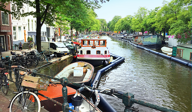Amsterdam, canals, travel