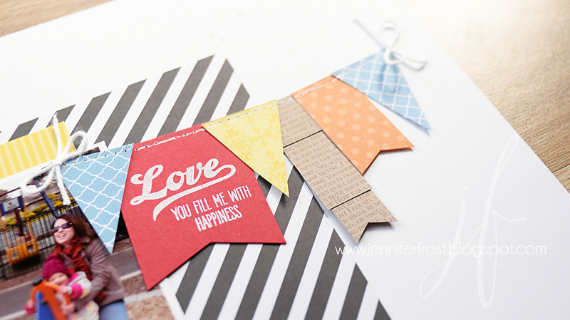 Thrifty Craft Tips, Scrapbooking, Jar of Love, Stampin' Up!, Let's Get Hopping Blog Hop, Papercraft by Jennifer Frost