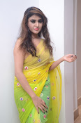 Sony Charista sizzling look in saree-thumbnail-2