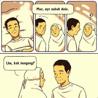 Cerita Komik Mimpi Pak Jokowi ke Masa Lalu