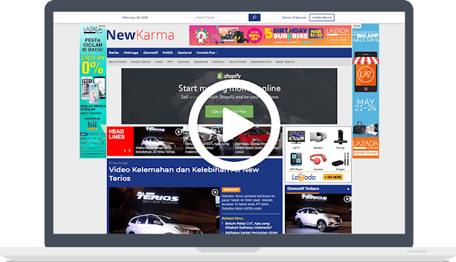 Newkarma Theme Wordpress Gratis - Kajadian