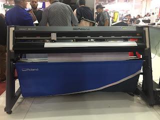 Roland'ın yeni geniş formatlı Kesim Plotter'ı GR-640...