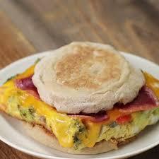 The Best Breakfast Sandwich Meal Prep