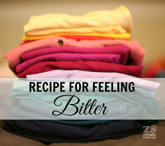 Recipe for Feeling Bitter