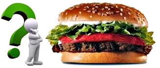 Hamburguesa valor nutricional salud