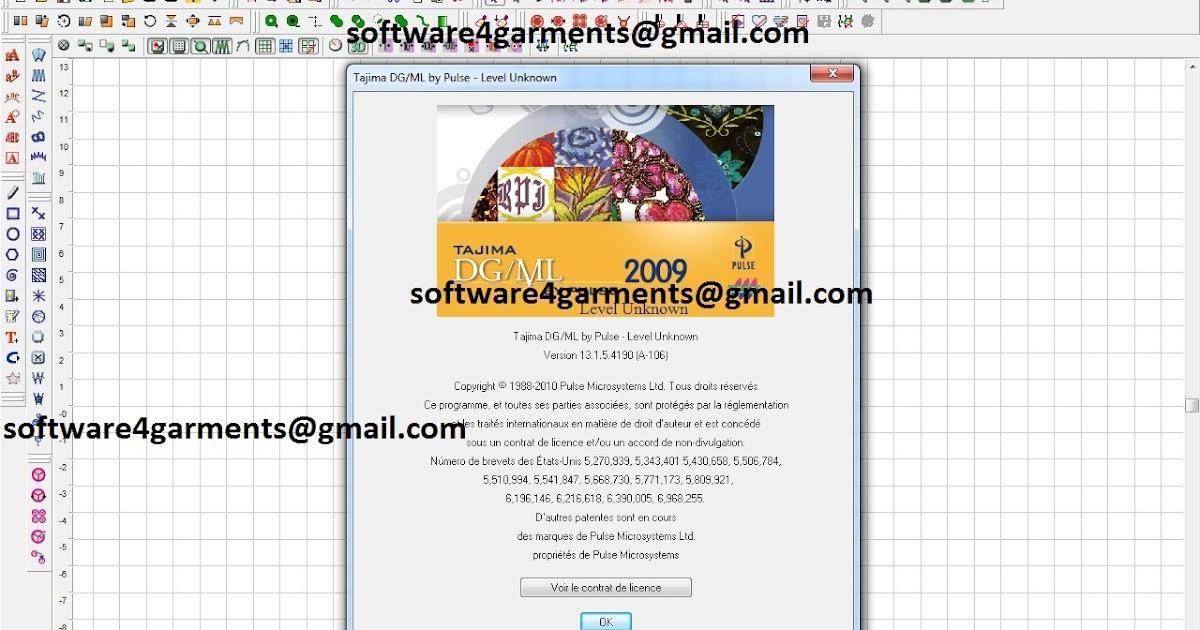 Tajima DGML By Pulse 2009 - Software Retail Seller