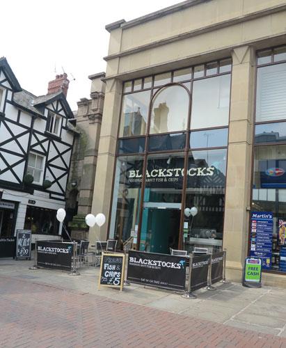 Blackstocks Fish & Chips Chester Cheshire