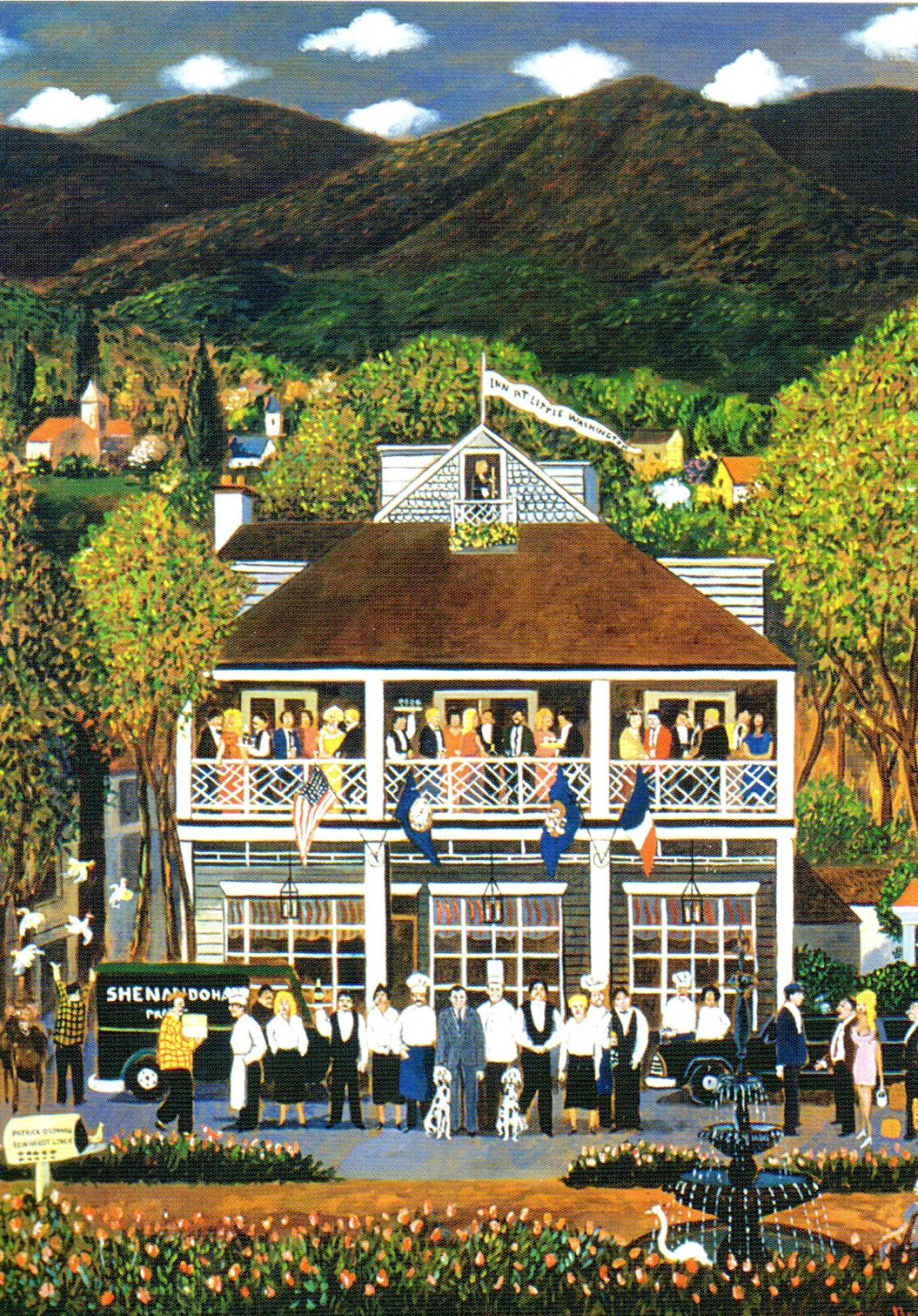 We Had Not Been To The Inn At Little Washington Since 2006 And Thought It Would Be Great Go Back There Its Restaurant Are Located In