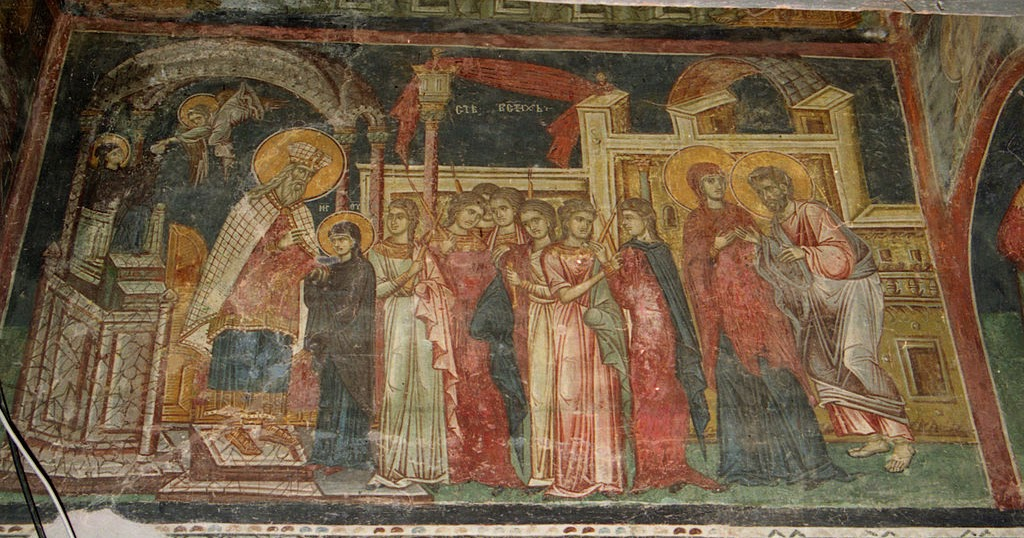 History of the Feast of the Entrance of the Theotokos into ...