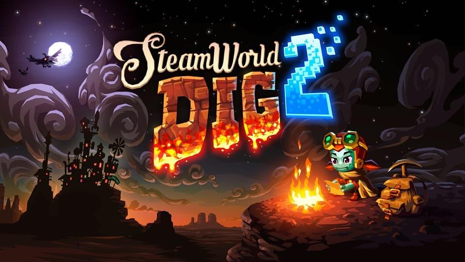 SteamWorld Dig 2, продолжение SteamWorld Dig, стимпанк, вестерн, инди-игра, фантастика, Steampunk, Western, SciFi, IndieGame, обзор, рецензия, Review