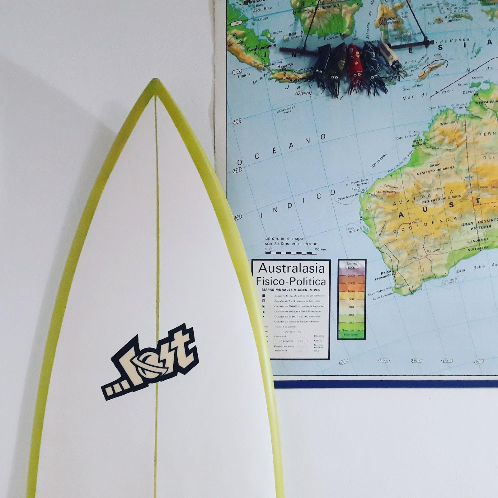 Vida, muerte y renacimiento de una tabla de surf