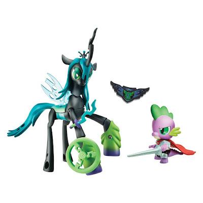 TOYS : JUGUETES - My Little Pony  Guardians of Harmony  Queen Chrysalis v. Spike the Dragon Hasbro B7298   A partir de 4 años Comprar en Amazon España & buy Amazon USA