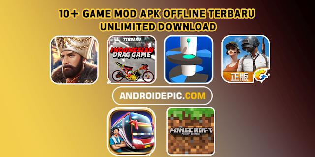 Kumpulan Game Mod Apk Offline Terbaru 2019 dengan ukuran file kecil di android Mod Apk file + Obb.