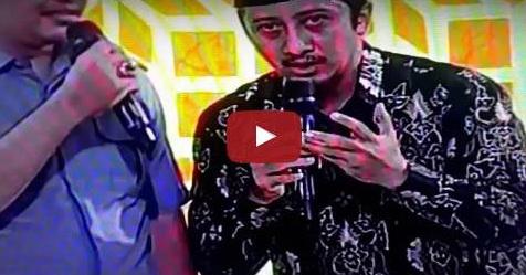 VIDEO: Ustadz Yusuf Mansur Menangis Saat Siaran Langsung Di TV One, Ini Penyebabnya