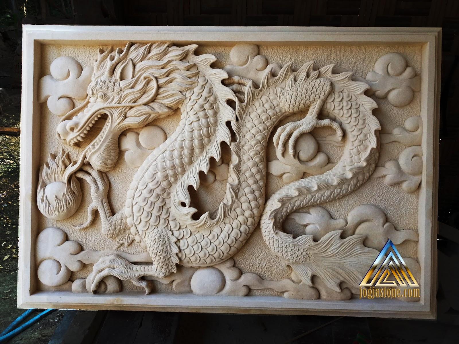 Relief Naga Batu Putih