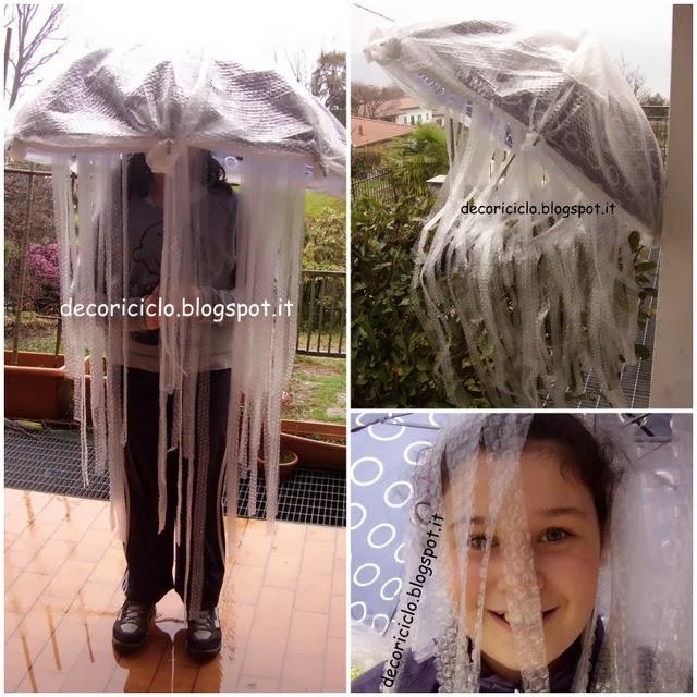 decoriciclo  Costume da medusa fai-da-te e404aed5e94