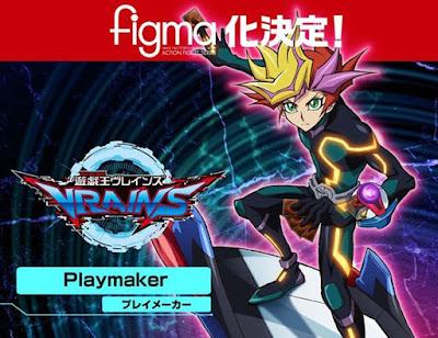 "figma Yuusaku Fujiki (Playmaker) de ""Yu-Gi-Oh! VRAINS"" - Max Factory"