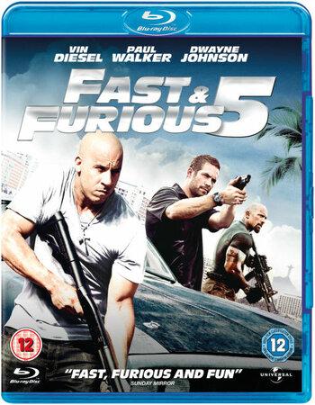 Fast Five (2011) Dual Audio Hindi 480p BluRay x264 400MB Movie Download