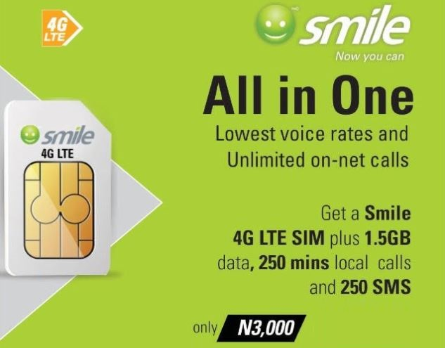 Smile Introduces All-in-One SIM with Data, Free Voice Minutes