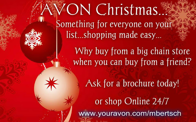 Avon Christmas Online Why Buy From Walmart Buy Avon