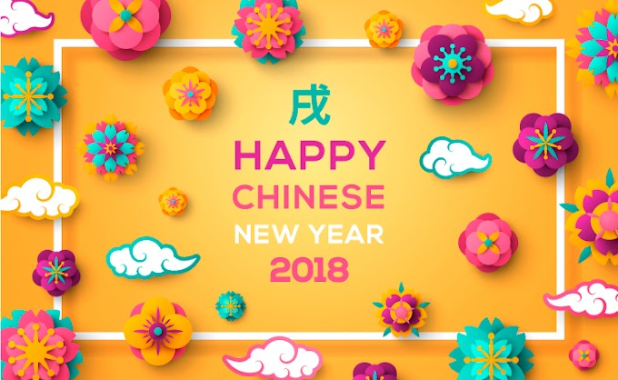 2018 Happy Chinese New Year dog creative poster design free Vector