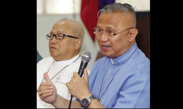 Bishop criticizes Duterte's drugs list