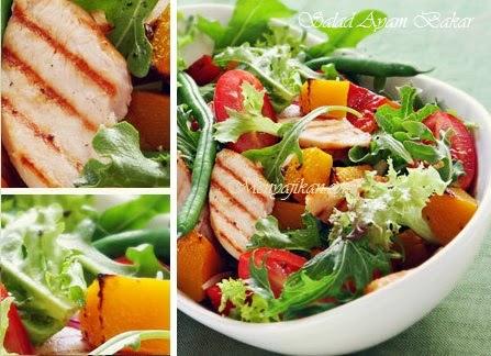 Salad Ayam Bakar