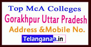 Top MCA Colleges in Gorakhpur Uttar Pradesh
