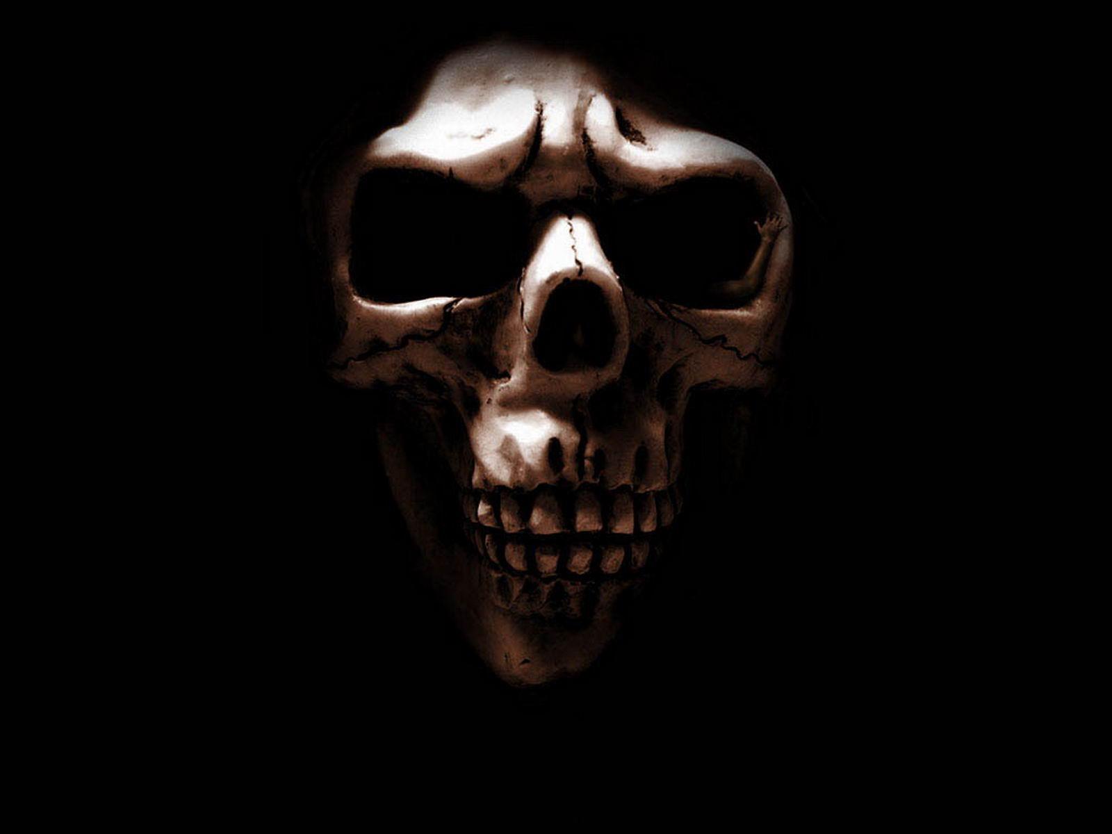 Free wallpaper dekstop horror wallpaper horror wallpapers - Scary skull backgrounds ...