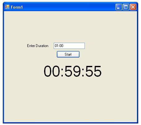 C sharp basics: progress bar and timer control using c#.