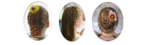 Curly Hair Is Beautiful!: Curly Friend-French Braids By ...