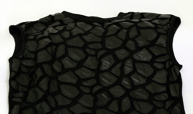 Milanoo-camiseta-negra