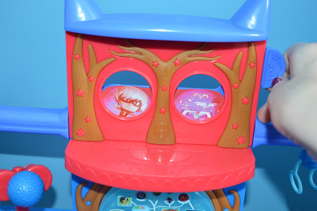 PJ Masks Headquarters Playset - Owl Vision