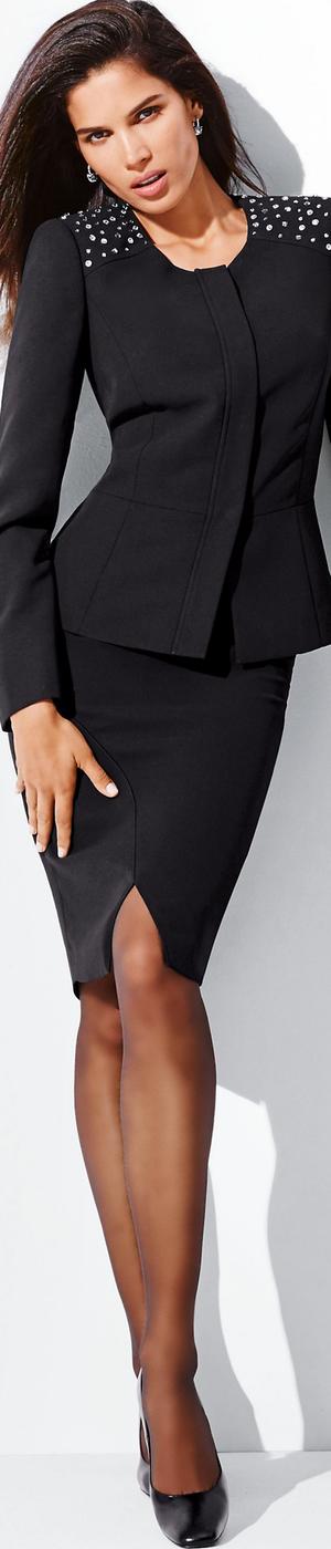 Madeleine Black Skirt