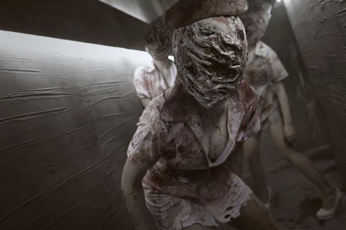 Myanimegirls 2014 Bubble Head Nurse Cosplay Silent Hill Game