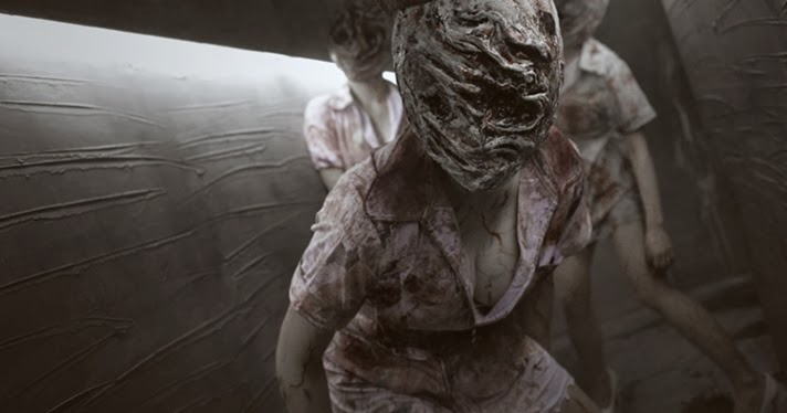 Animation New Bubble Head Nurse Cosplay Silent Hill Game