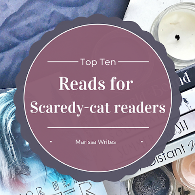10 Books for Scaredycat readers - Top Ten Tuesday on Reading List