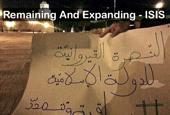 """Remaining and expanding"" - ISIS Hobgoblin MarchMatron.com"