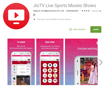 download jio tv app apk file