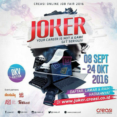 Joker Creasi Online Job Fair 2016
