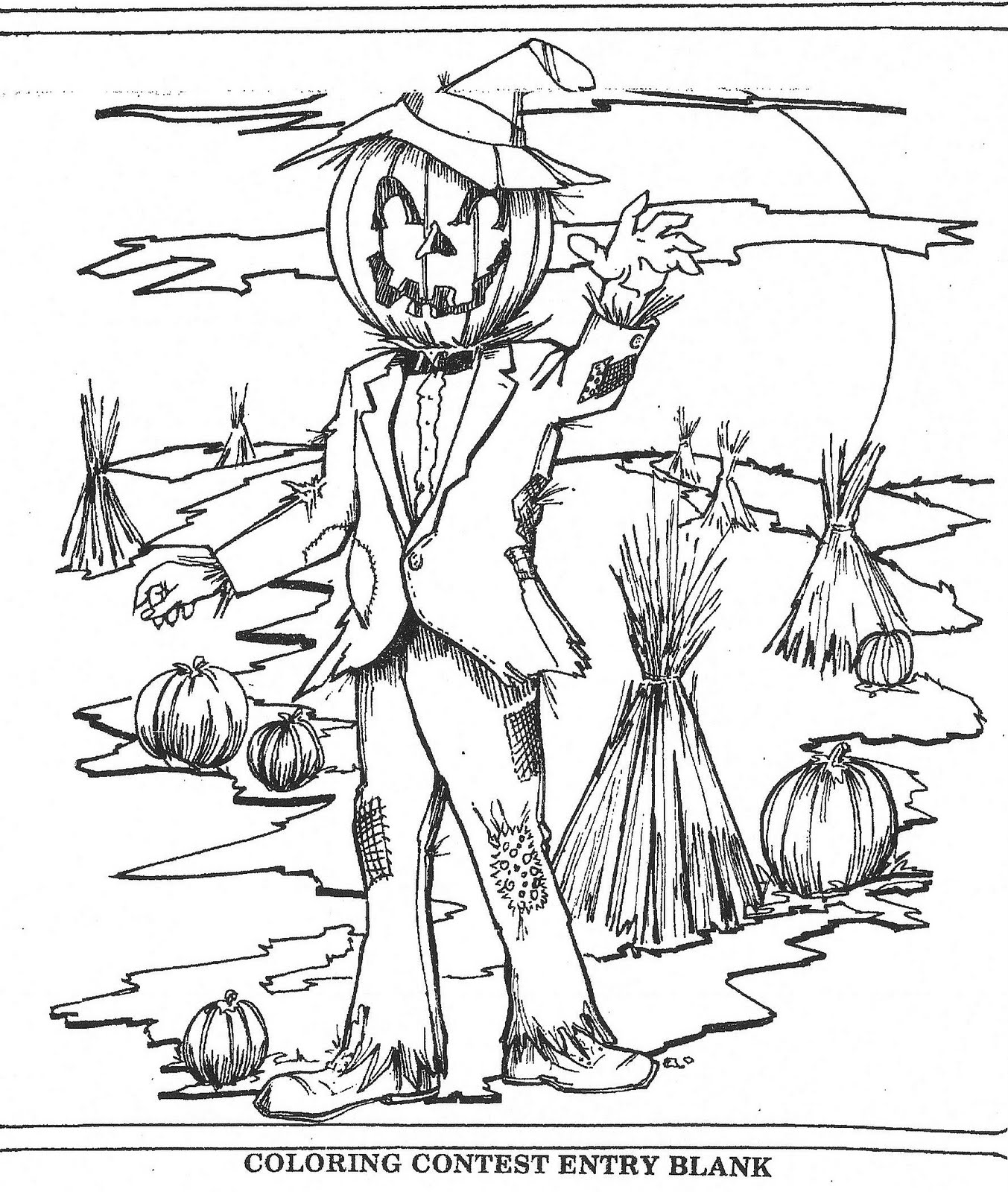 Mostly Paper Dolls: SCARECROWS